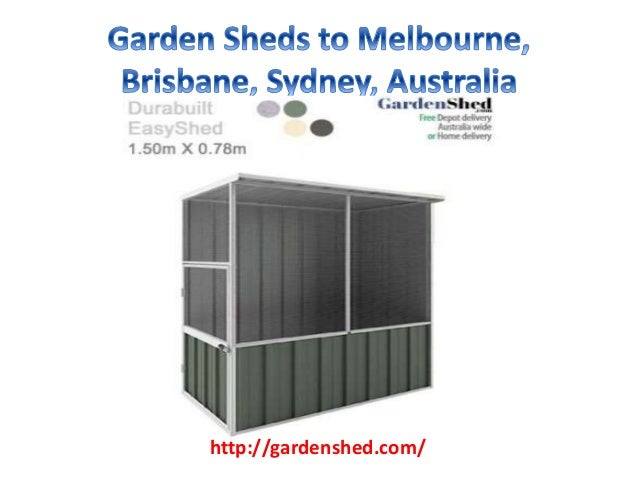 Garden Sheds Vic X Single Door Classic On Decor