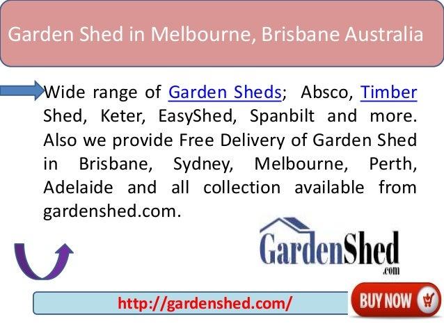 Garden shed in melbourne brisbane australia for Garden shed brisbane