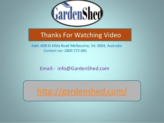 Garden Sheds Vic garden shed, absco sheds timber shed online sale at affordable price…