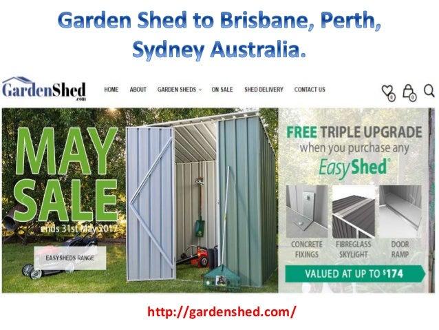 garden shed to brisbane perth sydney australia