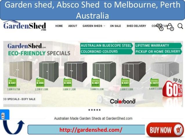 httpgardenshedcom garden shed absco shed to melbourne