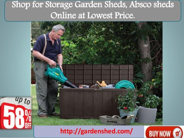 Shop For Storage Garden Sheds ...