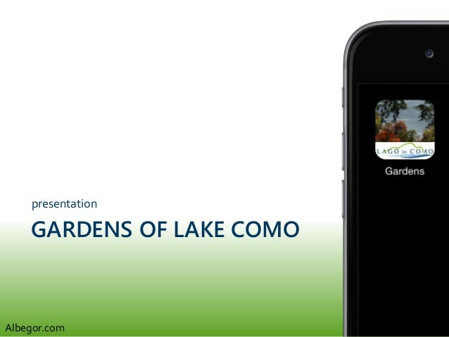 GARDENS OF LAKE COMO presentation Albegor.com
