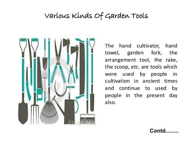 History Of Garden Tools; 5.
