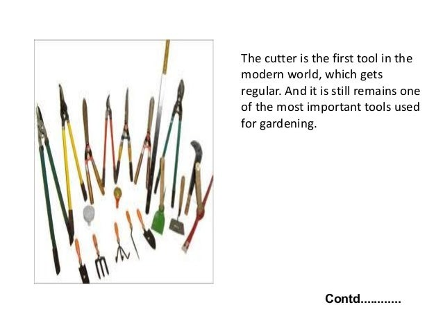 7. Different Purposes Of Garden Tools