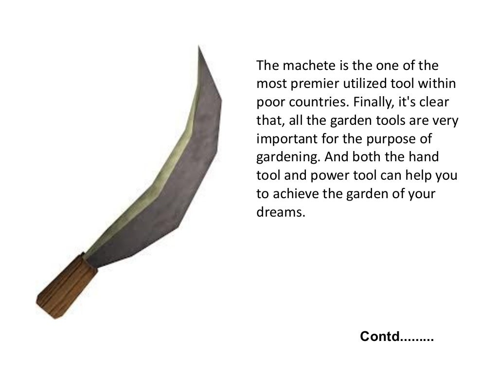 Different purposes of garden tools for Gardening tools and their uses