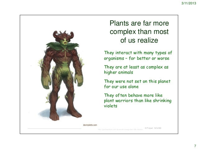 How do plants protect themselves?