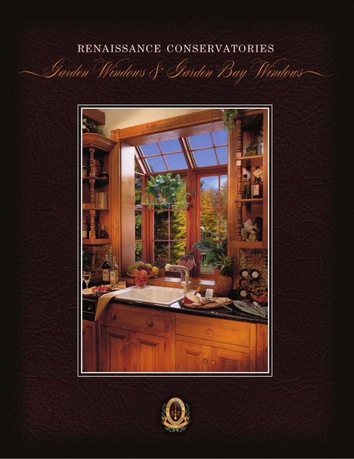 At Last . . .A Garden Window as beautiful as your Home!  it back in your chair, and permityour disciplined inner self to r...