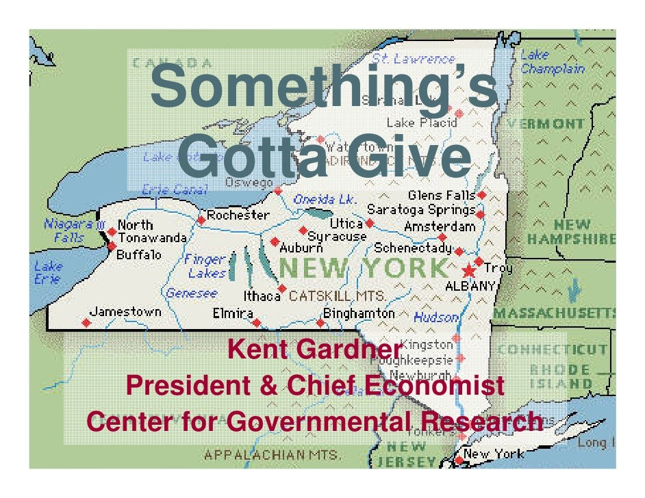 Something's      Gotta Give              Kent Gardner   President & Chief Economist Center for Governmental Research