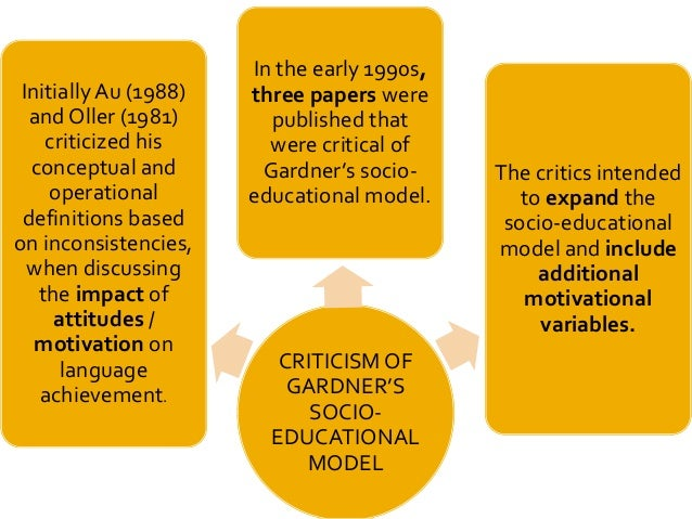 critically evaluate gardner and lambert's theory Critical evaluation of gardneras theory on motivation within the context of the ielets classroom my assignment bref is as follows: select a theory or a key issue in second language learning, critically evaluate different authorsa understandings of the issue and key research findings, and discuss their relevance to a teaching context that you are familiar with.