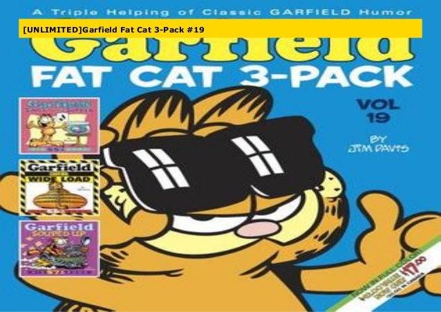 Unlimited Garfield Fat Cat 3 Pack 19