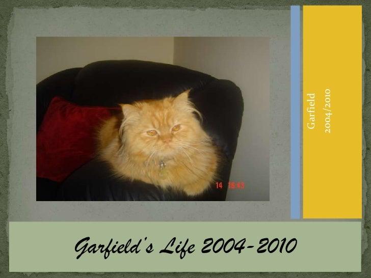 Garfield's Life 2004-2010<br />Garfield<br />2004/2010<br />