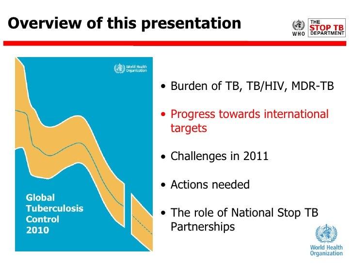global burden of tuberculosis pdf