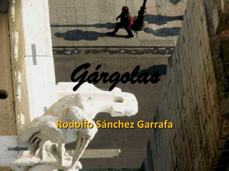 Rodolfo Sánchez Garrafa