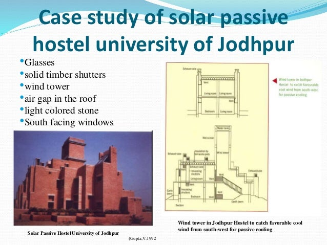 Solar Passive System For Buildings on Passive Solar Greenhouse