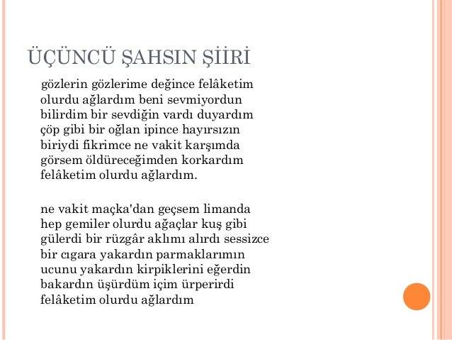 Garip Dişinda Yeniliği Sürdüren şiir Sunusu