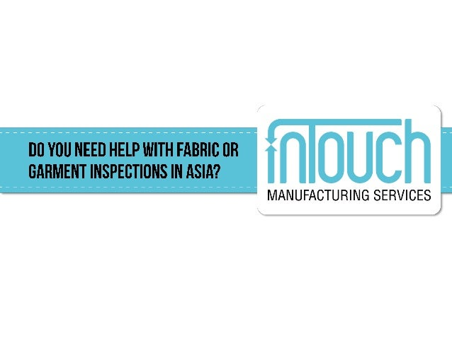 Check out our comprehensive guideline for garment inspection! One lastthing...
