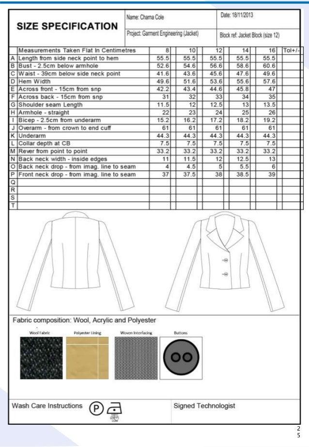 Garment engineering booklet