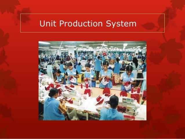 garment industry production system In any production organization has main goal to manufacture quality product with short time and less cost apparel industry is undergoin.