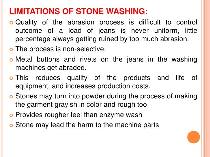  Drain. Rinse well (70◦C).Drain. Separate garments from stones if used (garmentscan be transferred to another machine)....