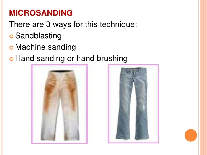 LASER TECHNOLOGY It  is a computer controlled process for denim  fading. This technique enables patterns to be created  ...