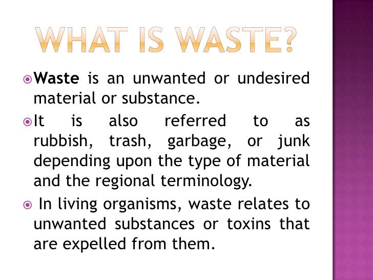 Garment Waste Slide 3