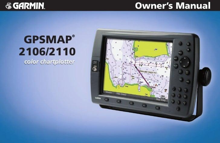 Owner's Manual    GPSMAP         ®    2106/2110