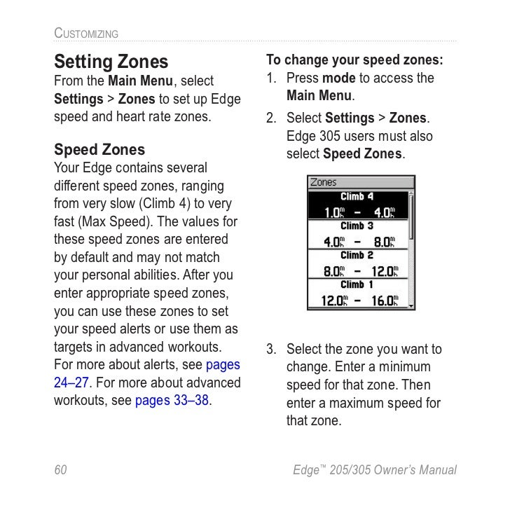 garmin edge 305 manual rh slideshare net Garmin 205 Sale Garmin 205 vs 305