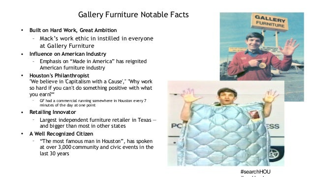 Social Content Marketing Gallery Furniture Rob Garner