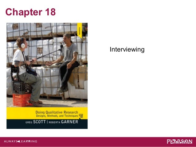 Chapter 18  Interviewing