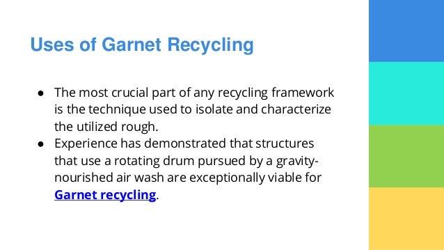 Garnet Recycling - Euroblast