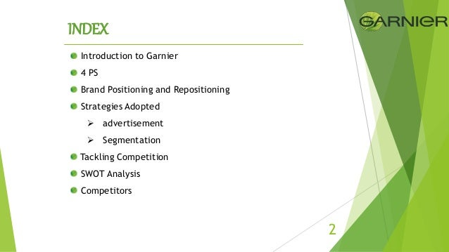 garnier fructis swot analysis Search and upload all types of swot analysis of garnier fructis  projects for mba's on managementparadisecom.