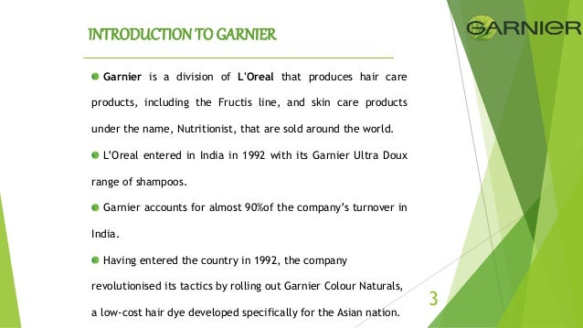 garnier fructis swot Based on the swot analysis provided in the case, what are the two or three  | garnier® fructis triple nutrition dryness reversal treatment |hair care |for.