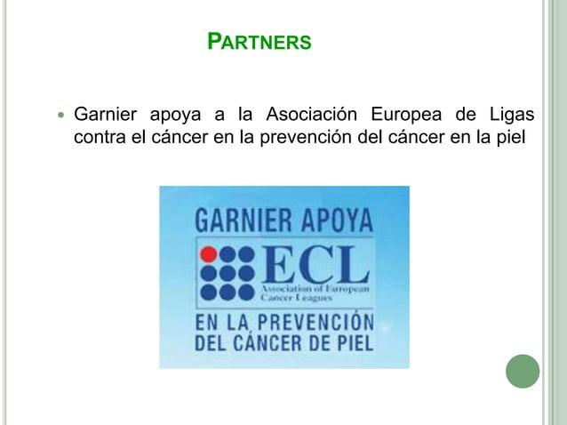 PARTNERS   Garnier apoya a la Asociación Europea de Ligas    contra el cáncer en la prevención del cáncer en la piel