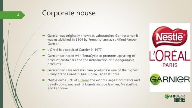 garnier company history