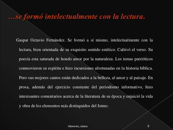 Gaspar Octavio Hernandez Poeta Periodista Autodidacta