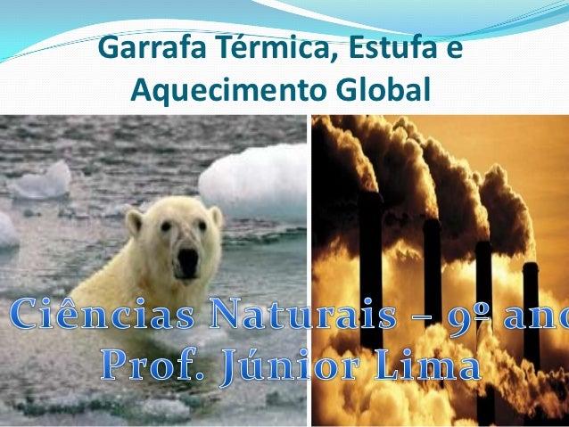 Garrafa Térmica, Estufa e  Aquecimento Global
