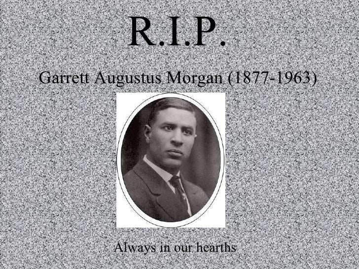 the life and contribution of garrett morgon Category: intersections, traffic, gas mask title: the life and inventions of garrett augustus morgan.
