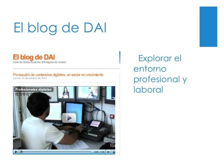 El blog de DAI Explorar el entorno profesional y laboral