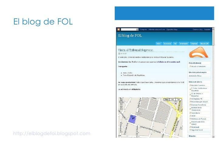 El blog de FOL http://elblogdefol.blogspot.com