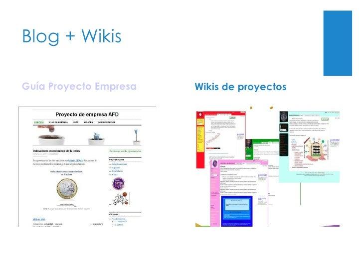 ¿Y con Empresa?  Blog Guía Proyecto Empresa Wikis de proyectos