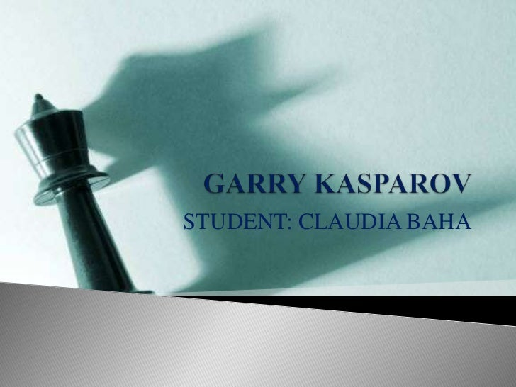 STUDENT: CLAUDIA BAHA
