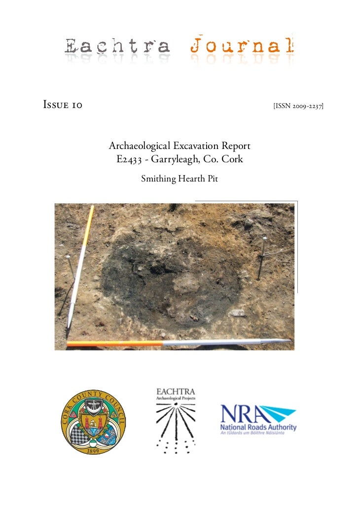 Eachtra JournalIssue 10                                      [ISSN 2009-2237]           Archaeological Excavation Report  ...