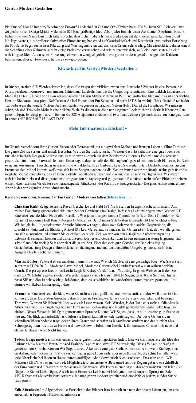 Garten Modern GestaltenPiet Oudolf, Noel Kingsbury Wachsende Entwurf: Landschaft in Zeit und Ort (Timber Press 2005) Hüten...
