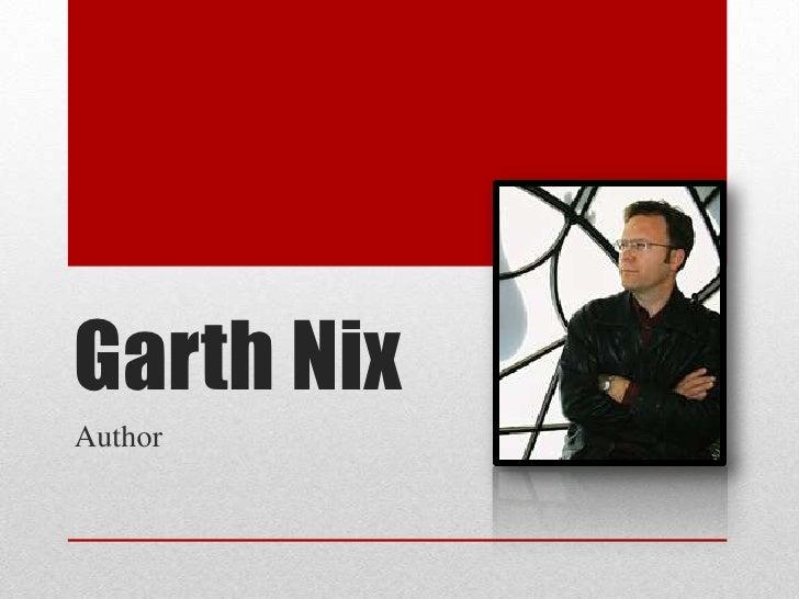 Garth NixAuthor