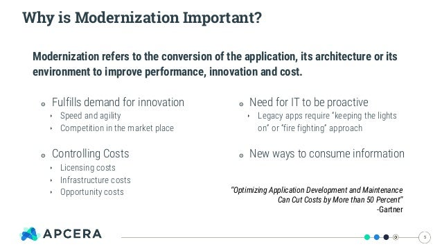 IT Modernization Doesn't Mean You Leave Your Legacy Apps Behind