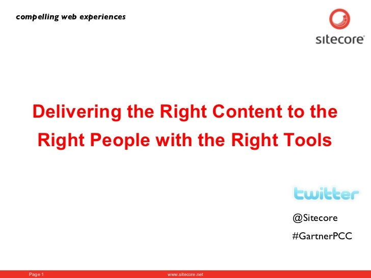 Brookings: Delivering the Right Content to the Right People with the Right Tools