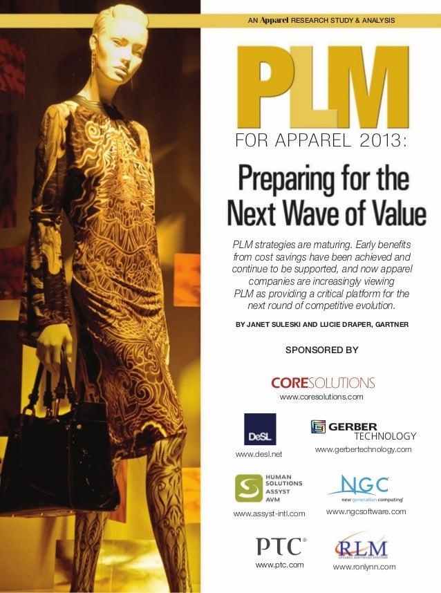 Gartner S Top 10 Strategic Technology Trends For 2015: Gartner's New Report, PLM For Apparel 2013: Preparing For