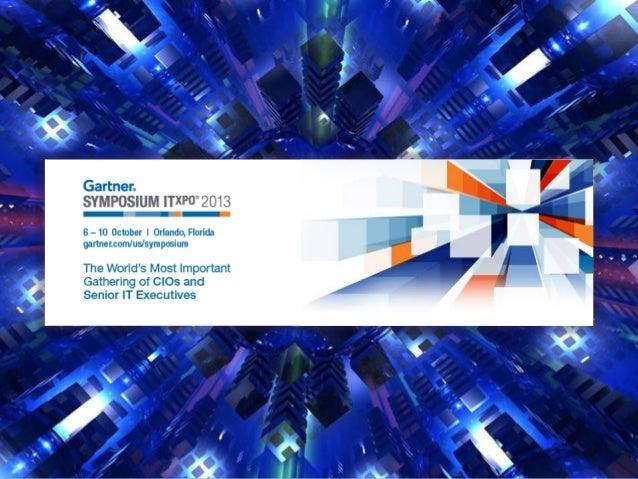 Preparar líderes para o novo mundo digital   Esse foi o principal objetivo do Symposium/ITxpo 2013 do Gartner que  realiz...
