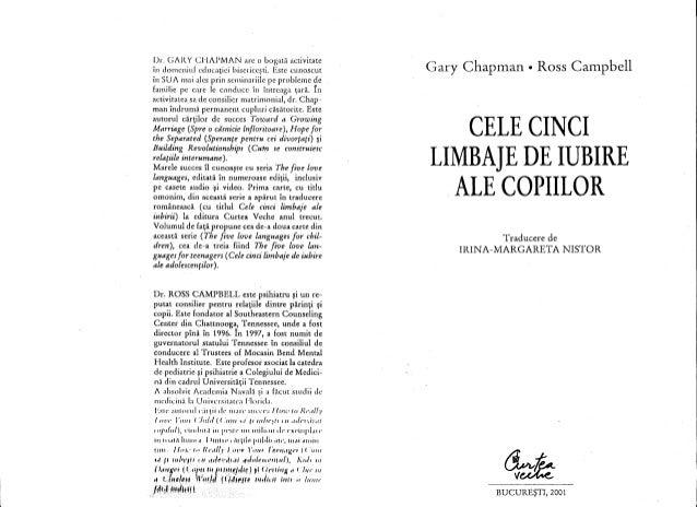 CELE 5 LIMBAJE ALE IUBIRII GARY CHAPMAN PDF
